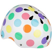 Kiddimoto Pastel Dotty Kids Helmet - Small (48-53cm)