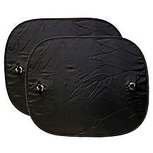 image of Halfords Pop Up Black Out Sunshade x2