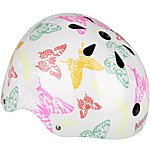 image of Kiddimoto Butterflies Kids Helmet