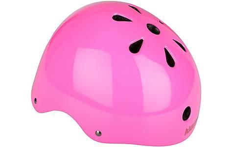 image of Kiddimoto Neon Pink Kids Helmet