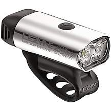 image of Lezyne Micro Drive 400 XL Front Bike Light - Silver