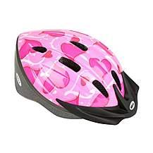 image of Bell Amigo Bike Helmet - Pink Hearts (50-55cm)