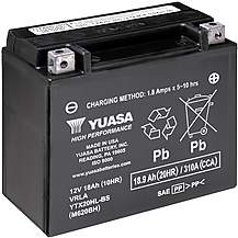 image of Yuasa YTX20HL-BS High Performance Powersport Motorcycle Battery