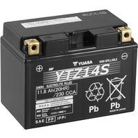 Yuasa High Performance Powersport Motorcycle Battery YTZ14S