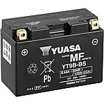 image of Yuasa Powersport Battery YT9B-BS