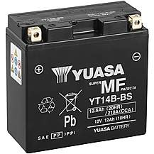 image of Yuasa Powersport Motorcycle Battery YT14B-BS