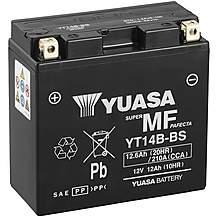 image of Yuasa Powersport Motorcycle Battery YT14B-BS
