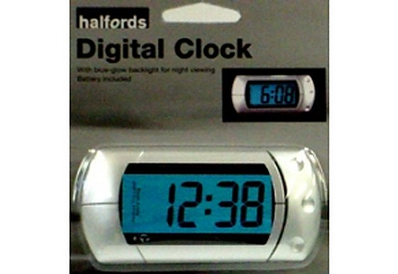 Halfords Digital Clock