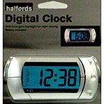 image of Halfords Digital Clock