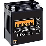 image of Halfords HTX7L-BS Scooter Battery