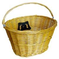 Halfords Wicker Front Bike Basket