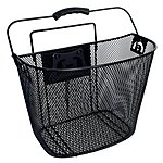 image of Halfords Wire Front Bike Basket with Fitting Kit