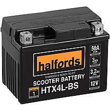 image of Halfords Scooter Battery HTX4L-BS