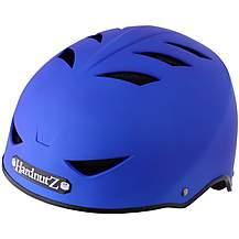 image of Hardnutz Rubber Street Helmet Blue-Medium