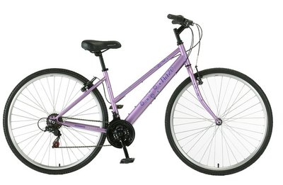 Apollo Haze Womens Hybrid Bike - 17