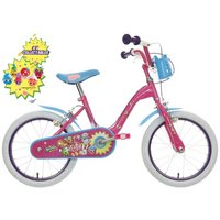"Shopkins Kids Bike 16"" With Collectibles"