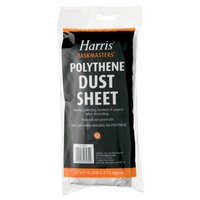 Harris Polythene Dust Sheet 12ftx9ft