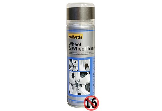 Halfords Wheel Paint Anthracite Spray 500ml