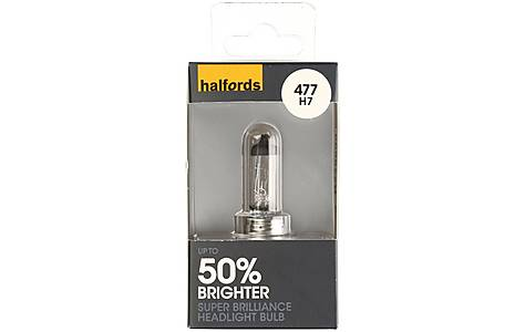 image of Halfords Super Brilliance (HBU477SB) H7 Car Bulb x 1