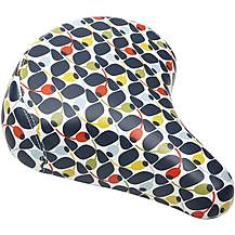 image of Orla Kiely Bike Saddle - Olive