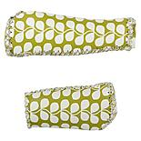 Olive and Orange by Orla Kiely Handlebar Grips