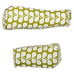 image of Olive and Orange by Orla Kiely Handlebar Grips