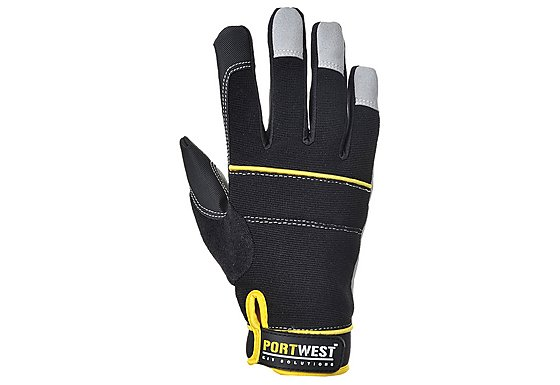 Portwest Tradesman Gloves Black Large