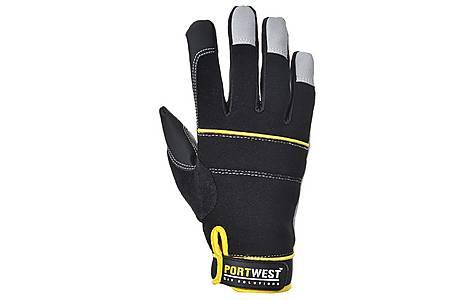 image of Portwest Tradesman Gloves Black Large