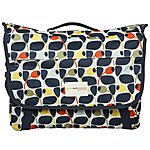 image of Olive and Orange by Orla Kiely Pannier Bag