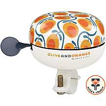 image of Olive and Orange by Orla Kiely Bike Bell