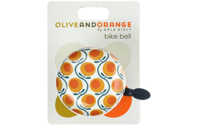 Olive And Orange By Orla Kiely Bike