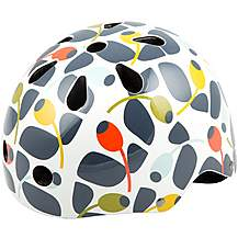 image of Olive and Orange by Orla Kiely Womens Bike Helmet (54-58cm)