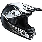image of HJC Moto-X Matt Black Helmet