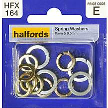 image of Halfords Spring Washers 8 and 9.5mm