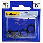 image of Halfords Assorted Small O-Rings