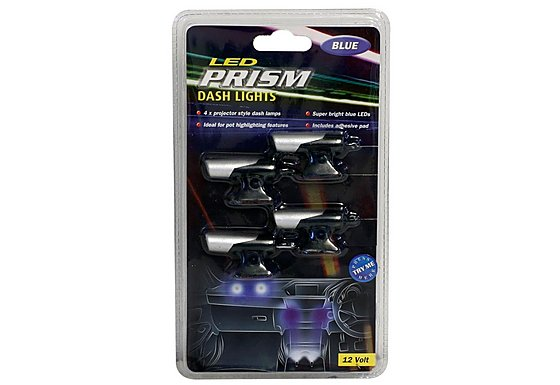 Prism 4 Way Projector Style Dash Lights