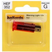 Halfords Warning Light