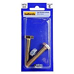 image of Halfords Set Screws and Nuts M10 x 55mm HFX305