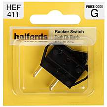 image of Halfords Rocker Switch