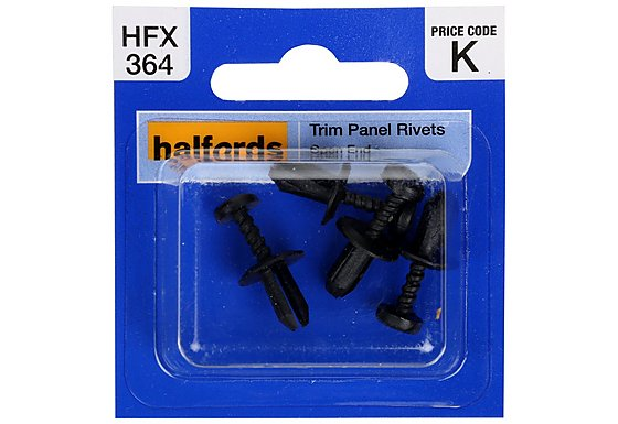 Halfords Trim Panel Rivets (HFX364)