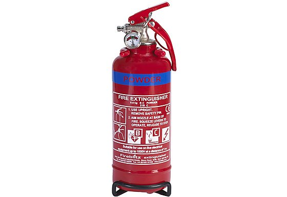 Fireblitz FBP800 800g BC Dry Powder Fire Extinguisher