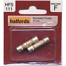 image of Halfords Domestic Fuses 13A