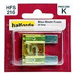 image of Halfords Maxi Blade Fuse 20 Amp