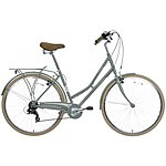 image of Pendleton Somerby Hybrid Bike - Green Grey