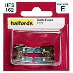image of Halfords Blade Fuses 5 Amp