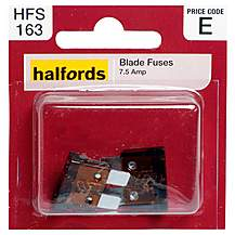 image of Halfords Blade Fuses 7.5 Amp