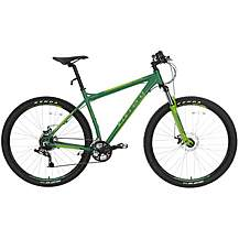 image of Carrera Sulcata Green Mens Mountain Bike