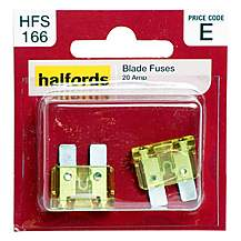 image of Halfords Blade Fuses 20 Amp