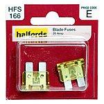 image of Halfords Blade Fuses 20 Amp