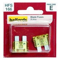 Halfords Blade Fuses 20 Amp